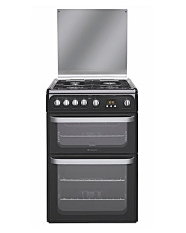 Hotpoint HUG61K Gas Double Cooker