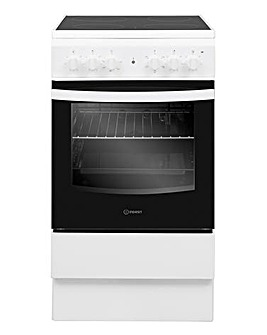 Indesit IS5V4KHW Electric Single Cooker