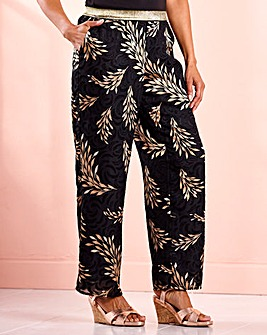 Joanna Hope Jacquard Trouser