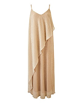 Joanna Hope Drape Plisee Maxi Dress