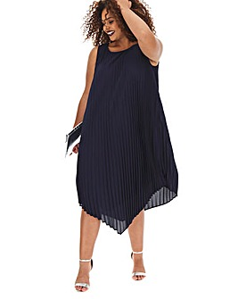 Joanna Hope Pleated Midi Dress