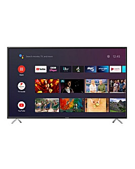 "Sharp 4T-C50BL2KF2AB 50"" UHD Android Smart TV"