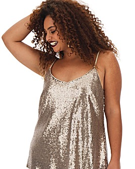 Joanna Hope Sequin Cami