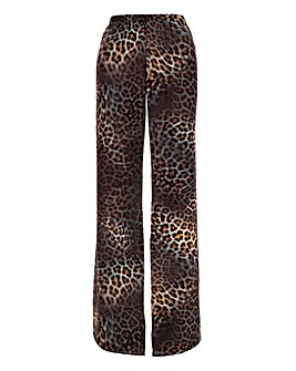 Joanna Hope Leopard Overlay Trousers