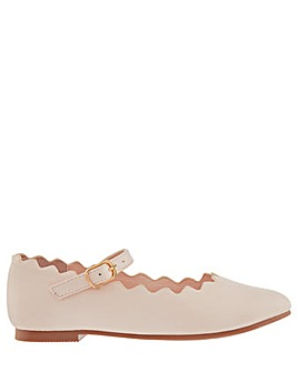 Monsoon Quinn Scallop Ballerina