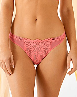 Figleaves Harper Geometric Lace Thong