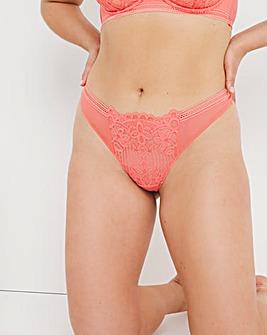 Figleaves Harper Geometric Lace Thong
