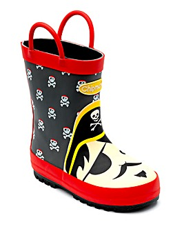 Chipmunks Blackbeard Wellingtons