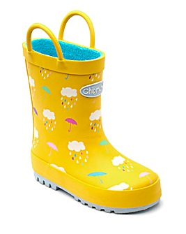 Chipmunks Rain Wellingtons