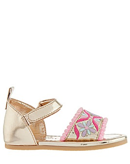 Monsoon Embroidered Walker Sandal