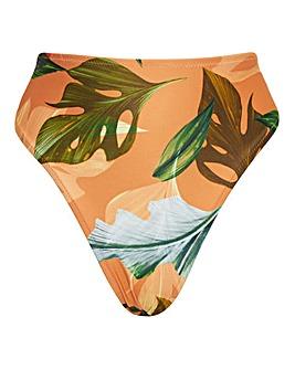 Curaco High Waist High Leg Tummy Control Bikini Bottom