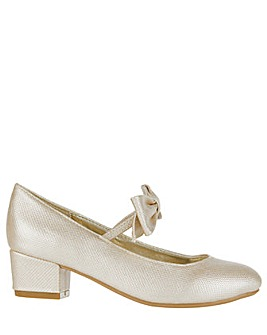 Monsoon Alba Bow Strap Charleston Shoe