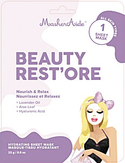 MaskerAide Beauty Rest'Ore Sheet Mask