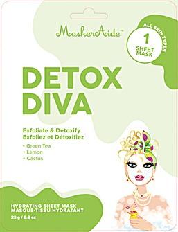 MaskerAide Detox Diva Sheet Mask