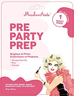 MaskerAide Pre Party Prep Sheet Mask