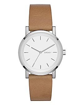 DKNY Ladies Soho Tan Watch