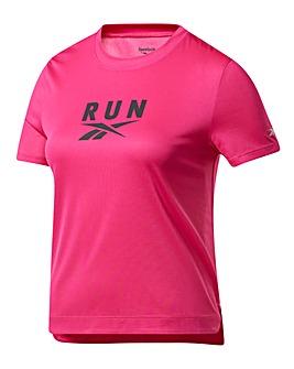 Reebok WOR Run Graphic T-Shirt