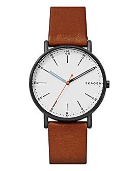 Skagen Mens Signature Brown Watch