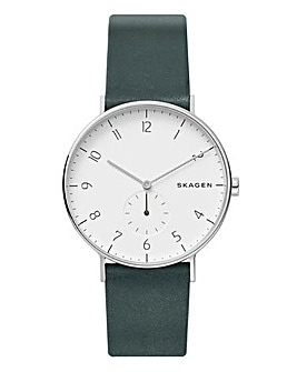 Skagen Aaren Teal Strap Watch