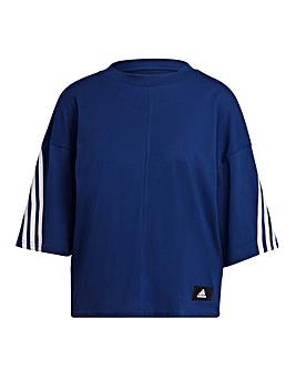 adidas FI 3 Stripe T-Shirt