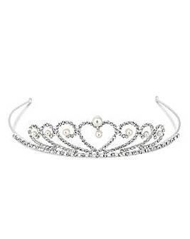 Jon Richard Childs Heart Tiara