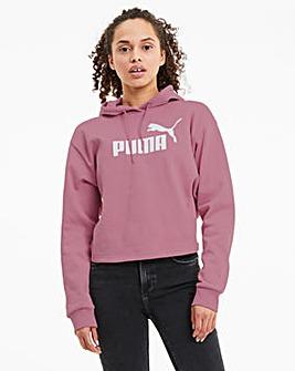 Puma Elevated Essential Logo Cropped Hoody