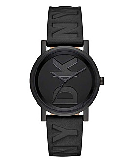 DKNY Soho Logo Blackout Watch