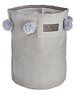 Pom Poms Laundry Bag