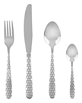 Swan Geo 16 Piece Cutlery Set