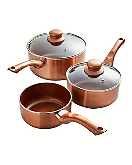 Cermalon Non-Stick 3 Piece Pan Set
