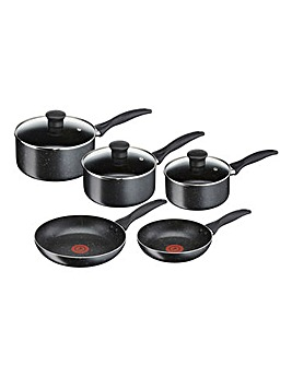 Tefal Stone 5 Piece Pan Set