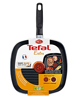 Tefal Extra Thermospot 26cm Grill Pan