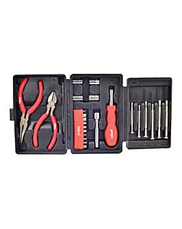Rolson 26pc Mini Tri Fold Tool Kit