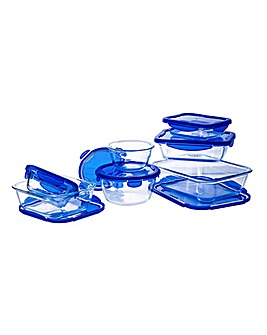 Pyrex Cook&Go 7 Piece Set