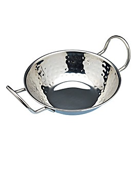 Indian Hammered Metal 17cm Balti Dish