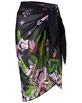 Pour Moi Orchid Luxe Sarong