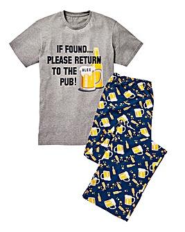 Personalised If Found Pyjamas