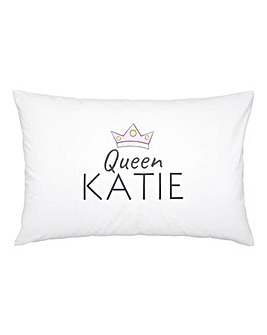 Personalised Crown Pillowcase