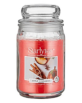 Starlytes Large Candle Apple Cinnamon