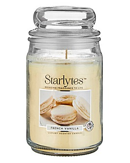 Starlytes Large Candle French Vanilla