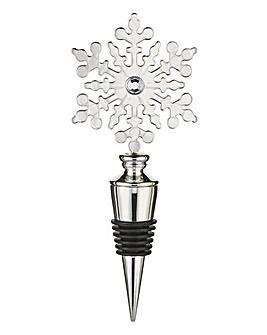 Snowflake Design Wine Stopper