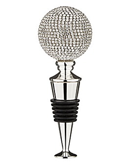Shimmer Silver Plated Wine Stopper