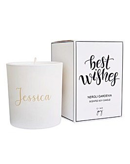 Personalised Gift Boxed Scented Candle