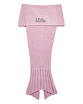 Personalised Children's Mermaid Blanket