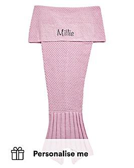 Personalised Children's Mermaid Blanket