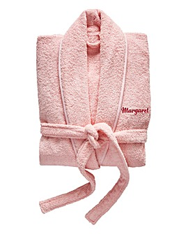 Personalised Womens Towel Robe