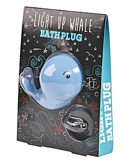 Whale Light Up Bath Plug