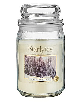 Starlytes White Christmas Large Jar