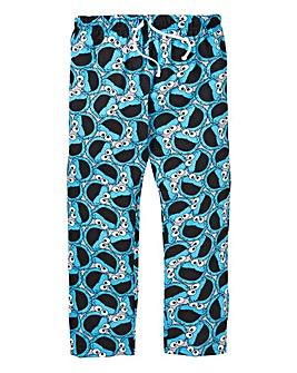 Cookie Monster Printed Loungepants