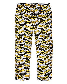Batman Printed Open Hem Loungepants